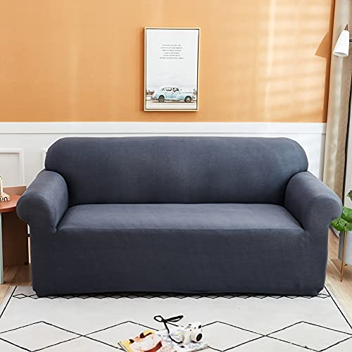 WXQY Funda de sofá elástica para Sala de Estar Funda de sofá elástica seccional de Spandex Funda de sofá de Esquina elástica en Forma de L Funda de sofá A1 4 plazas