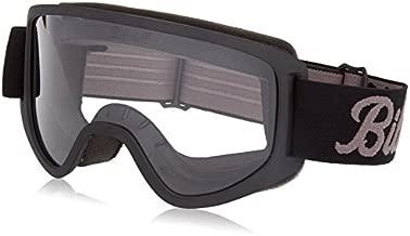 Biltwell (M2LOGBKGY) Script Moto 2.0 Goggles (Black, One Size Fits Most)