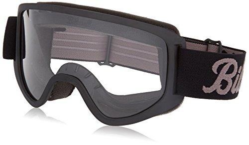 Biltwell M2LOGBKGY Script Moto 2.0 Schutzbrille, Schwarz, Einheitsgröße