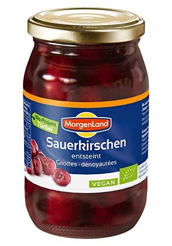 MorgenLand Bio-Sauerkirschen entsteint, 3er Pack (3 x 360 g)