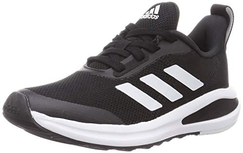 adidas Fortarun Running Shoe, Core Black/Core Black/Cloud White, 39 1/3 EU