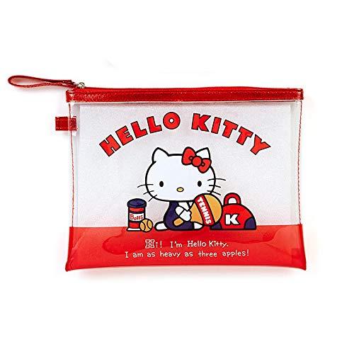 Hello Kitty - Estuche transparente para lápices: Amazon.es: Oficina y papelería