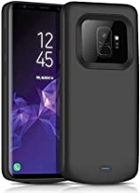 Galaxy S9 Battery Charging Case,JUBOTY Slim 4700mAh Portable Protective Extended Battery Case with Full Edge Protection Compatible with Samsung Galaxy S9