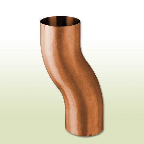 Kupfer Sockelknie Etagenbogen DN 100