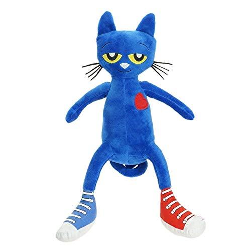 Peluches Pete The Cat Plush Doll Amo Mis Zapatos Blancos Peluche Suave 33cm