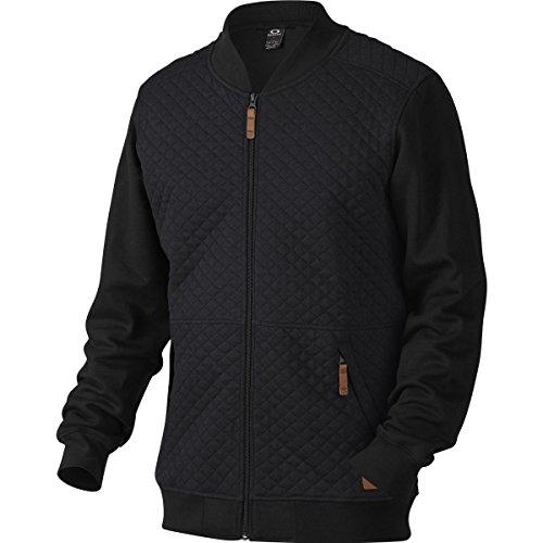 Oakley Chips Thermal Fz Sweat-Shirt zippé Homme, Jet Black, FR : M (Taille Fabricant : M)