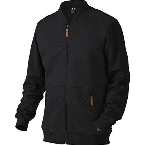 Oakley Chips Thermal Fz Sweat-Shirt zippé Homme, Jet Black, FR : M (Taille Fabricant : M)