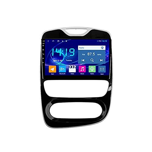 Android 10.0 Radio Stereo per Clio 4 2016-2019 Navigazione GPS Touchscreen da 9 pollici Lettore multimediale MP5 Ricevitore video con 4G WiFi SWC Carplay