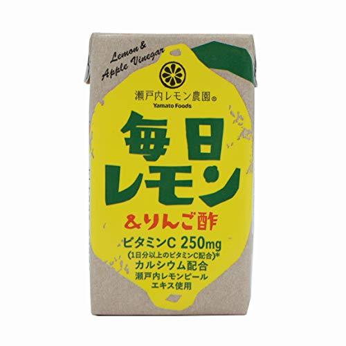 ヤマトフーズ 毎日レモン&リンゴ酢125ml×24本