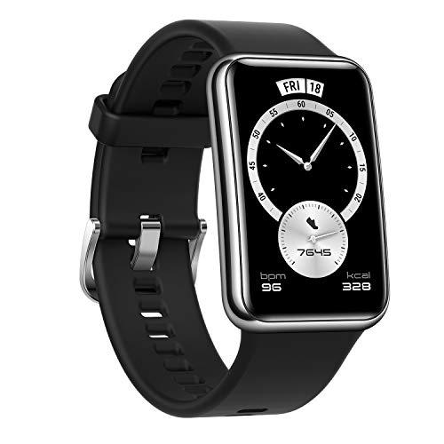 【Amazon.co.jp限定】HUAWEI Watch FIT Elegant スマートウォッチ 1.64インチAMOLEDディスプレイ 10日間長...
