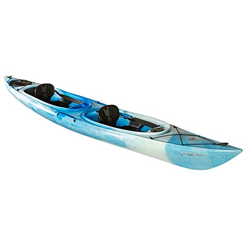 Old Town Dirigo Tandem Plus Recreational Double Kayak, Cloud, 15 Feet 3 Inches