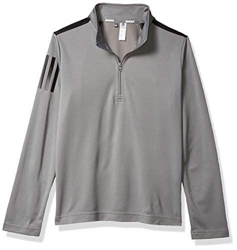 Purchase adidas Golf 3-Stripes Pullover, Grey Three, X-Small