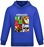 Unspeakable M.erch Hoodies You.Tuber Boys Sweatshirt Girls Clothes Jumper Long Sleeves T Shirts Unspeakable Toys
