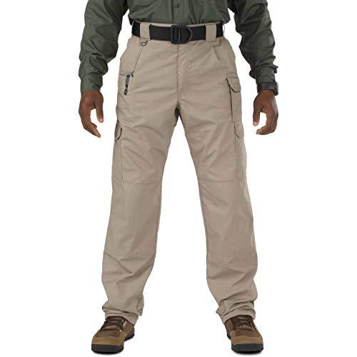 5.11 Men's Taclite Pro Tactical Pants, Style 74273, Stone, 30Wx32L