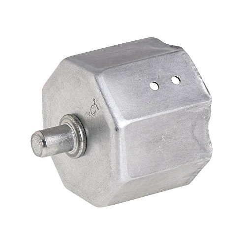 WOLFPACK LINEA PROFESIONAL 5250200 Capsula Persiana Metalica con Espiga para Eje 60 mm, Metal