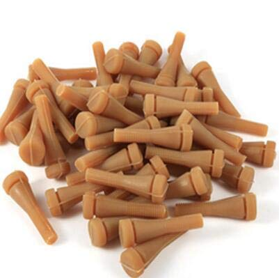 Jadeshay 50Pcs/Set Replacement Rubber Fingers for Poultry and Chicken Pluckers Feather Plucking