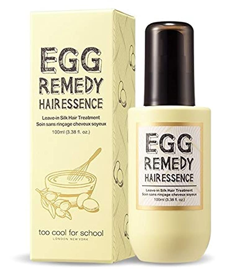 先祖二度ミサイルToo Cool For School ツークルポスクール EGG Remedy Hair Essence ヘアエッセンス100ml Damaged hair care, For dry hair
