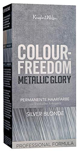 Colour-Freedom Metallic Glory Silver Blonde permanente Haarfarbe