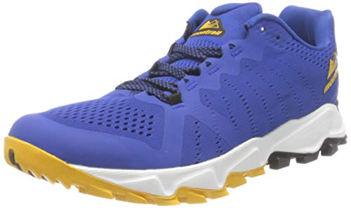 Columbia Herren Montrail Trans Alps F.K.T. III Trailrunning-Schuhe, Blau, Gold (Azul, Bright Gold), 41 EU, 1888301