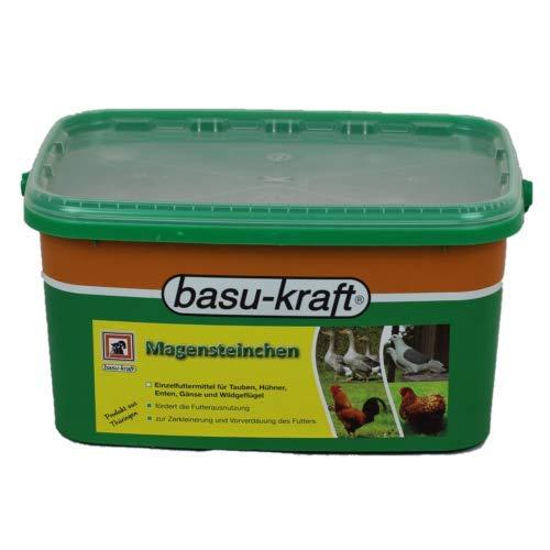 BASU Magensteinchen 7 kg Eimer für Geflügelküken und Tauben zur Zerkleinerung und Vorverdauung des Futters
