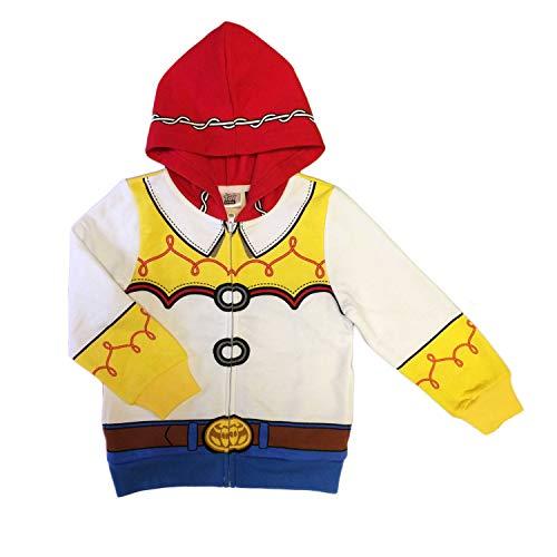 Disney Toy Story Little Girls Jessie Costume Hoodie Multi, 4T