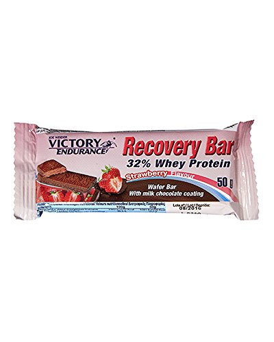 Victory Endurance - Recovery Bar 50 grs sabor Fresa