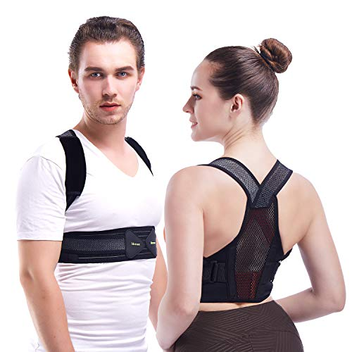 Invisible Posture Corrector For Women And Men - Adjustable and Breathable Spine and Back Support - Providing Pain Relief for Back, Shoulders,Improves Posture(XL, Waistline 39-50in)