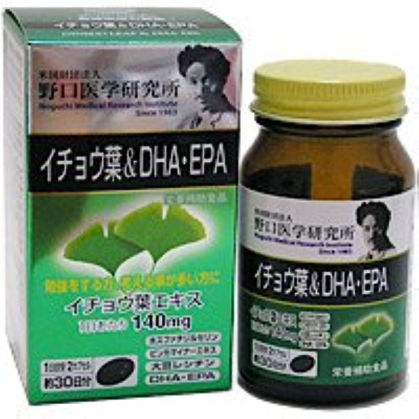 翻訳者排泄する自動化野口医学研究所 イチョウ葉&DHA+EPA お得な24個セット