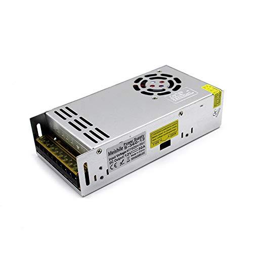 12V 30A Schaltnetzteil Die Industrielle Fahren Netzteil Energieversorgung Transformator AC to DC Stromversorgung für 3D Drucker, LED Strip Beleuchtung und Industrieanlagen Spannungsregulierung