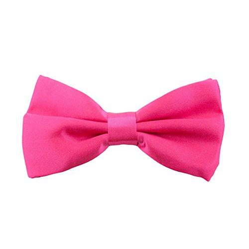 Oblique Unique Kinder Fliege Schleife Größe verstellbar Festlichkeit Hochzeit Anzug Smoking (Pink)