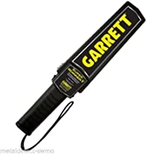 Garrett Metal Detectors Hand-Held Metal Detector, Plastic ABS With Rubber Grip 1165190 - 1 Each