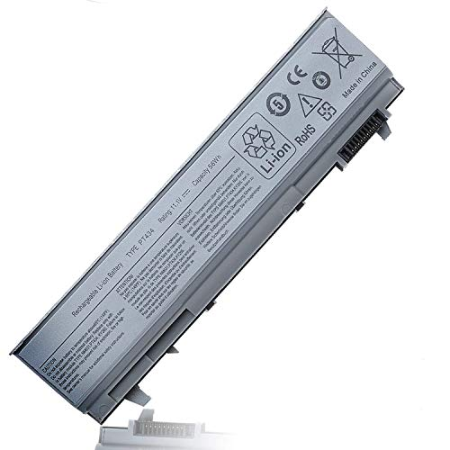 BYDT Laptop Battery Replacement for Dell Computer Latitude E6400 E6410 E6500 E6510 Precision M2400 M4400 M4500 Latitude E6400 Compatible with Notebook Battery PT434 KY477 KY268 312-0749 [6-cell 56wh]