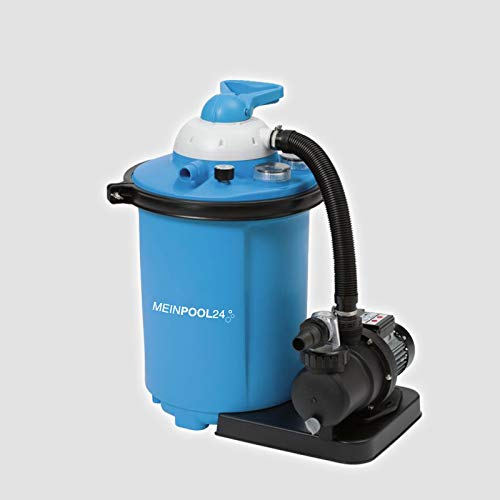 MEINPOOL24.DE Filteranlage Speed Clean Comfort 75 Poolfilter Sandfilter für Pools bis 40.000 Liter