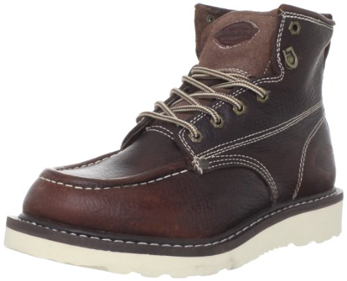 Dickies Men's Trader 6' Leather Boot,Burgandy,10 M US