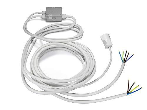 Energiesplitter Eco mit einem 2 Meter und Zwei 5 Meter Kabel/Powersplitter/Verteiler