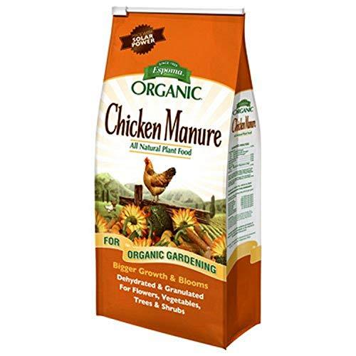 Espoma GM25 Organic 3-2-3 Chicken Manure, 25 lb