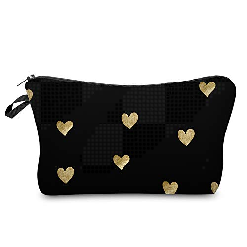 Cosmetic Bag for Women,Loomiloo Adorable Roomy Makeup Bags Travel Waterproof Toiletry Bag Accessories Organizer