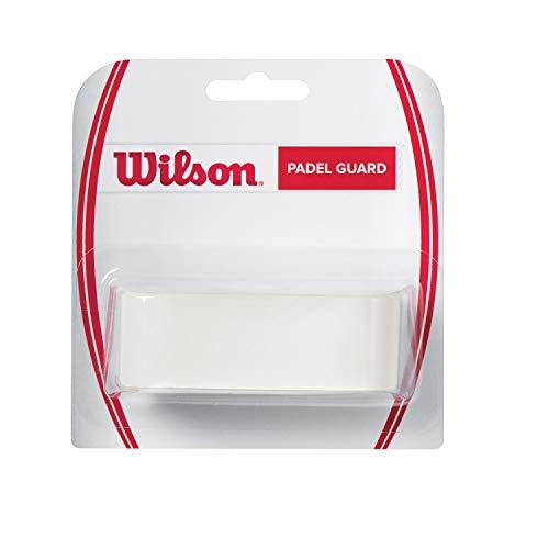 Wilson Padel-Guard, Nastro Adesivo Protettivo, 3.3 x 41 cm, per la Protezione Contro Il Contatto con Le Pareti e Il Pavimento, WRRR940100 Unisex, Trasparente