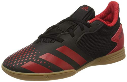 adidas Predator 20.4 in Sala J, Scarpe da Calcio Unisex-Adulto, Nero, 34 EU