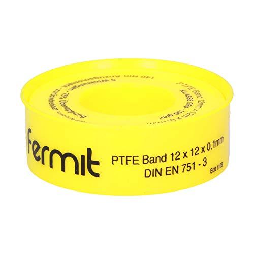PTFE-Gewindedichtband GRp, PTFE Band für Metall und Kunststoffgewinde bei allen Sanitär- und Heizungskreisläufen.
