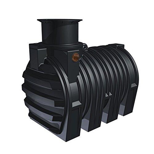 STABILO Sanitaer Kunststoff PE Erdtank Set-8 3300l Regenwassertank Zisternen Regenwasserspeicher Regenwasser Wassertank Regentank unterirdisch Garten