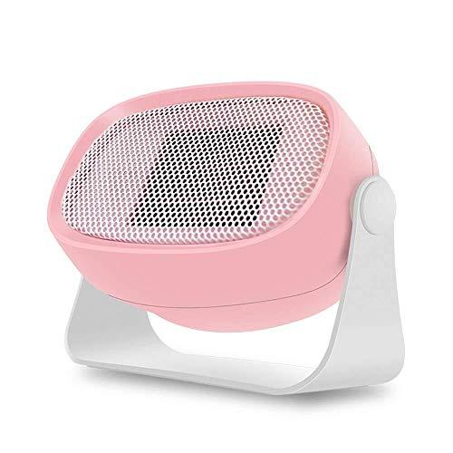 WSJTT Calefactor Mini Calentador Calentador de hogar Calentador Peque?o de Escritorio Ventilador Calentador portátil Mini Calentador de Regalo (Color:Rosa) (Color : Pink)