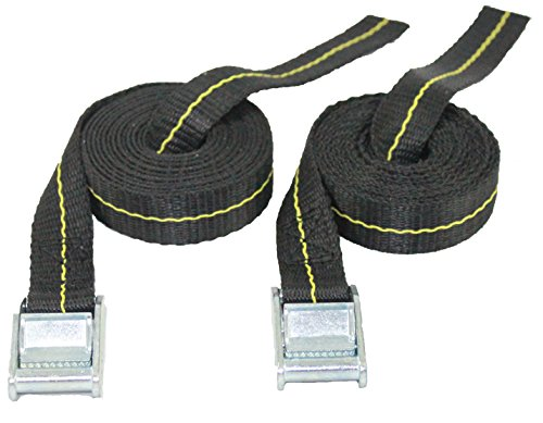 Kayak Lashing Straps - Stand Up Paddle Board - Surfboard - Tie Down Straps - 2 Pack - Made in USA (13)