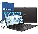 notebook hp 250 g7 portatile display da 15.6 /cpu intel core i3-7020u 2,3ghz /ram 8gb ddr4 /hd ssd 512gb /vga intel hd 620 /hdmi masterizzatore wifi bluetooth/windows 10 professional + open office