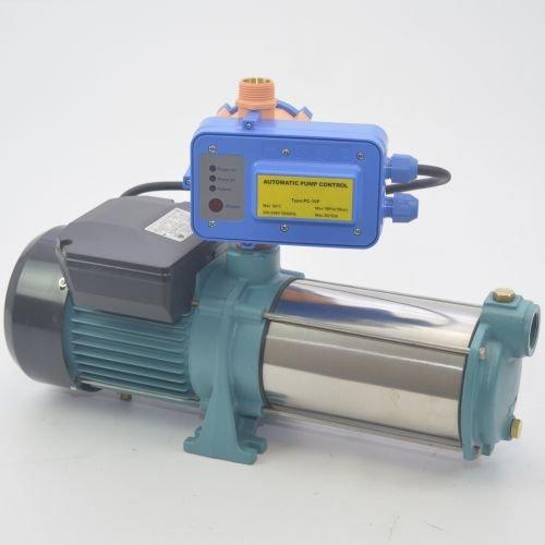 Kreiselpumpe Gartenpumpe MHI 1500 INOX 1,5kW 5700 L/h - 8 bar - Pumpensteuerung