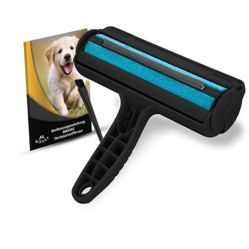 BIDOST® Premium Tierhaarentferner 3.0 stabile Fusselrolle Tierhaare für Sofas, Betten & Auto - Fusselbürste Tierhaare - Katzenhaarentferner Hundehaarentferner - Tierhaarroller
