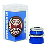 Independent Truck Co. Low Conical Cushions Blue Skateboard Bushings - 2 Pair with Washers - 92a by Independent -