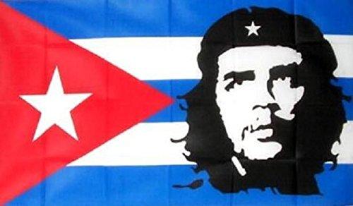 U24 Fahne Flagge Kuba mit Che Guevara 90 x 150 cm