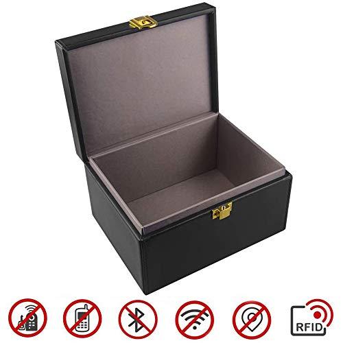 OFUN Keyless go Schutz autoschlüssel Box, RFID Signal Blocker, Funkschlüssel Abschirmung Diebstahlschutz Strahlenschutz Schutzhülle für Auto und Motorrad NFC
