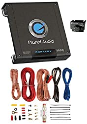 top rated PLANET AUDIO AC1000.2 1000W 2-channel car amp amp AC10002 + 8Ga amp kit 2021